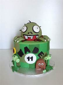 Cake Decorating Ideas Zombies Plants Vs Zombies Birthday Cake Cakecentral