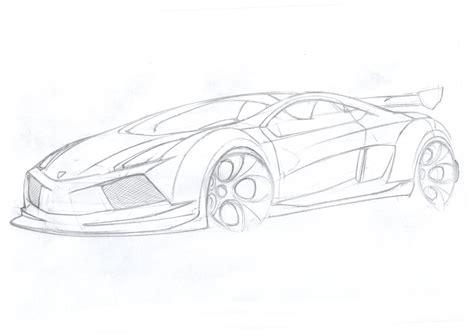 Sketch Of A Lamborghini Lamborghini Car Sketches