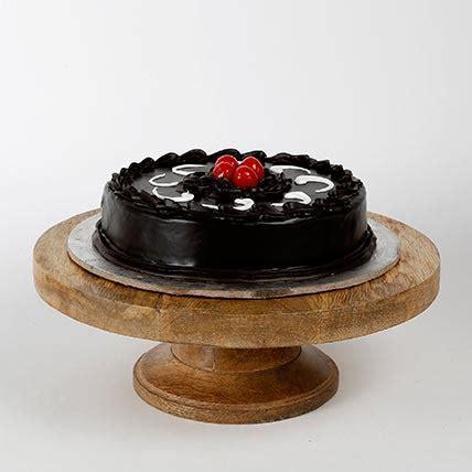 Truffle Cake Half Kg   Gift Truffle Cake Half Kg   Ferns N