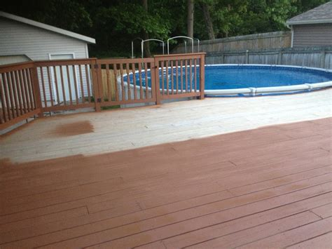 Cabot Decking Stain by Cabot Brand Chestnut Brown Stain For Our New Deck You