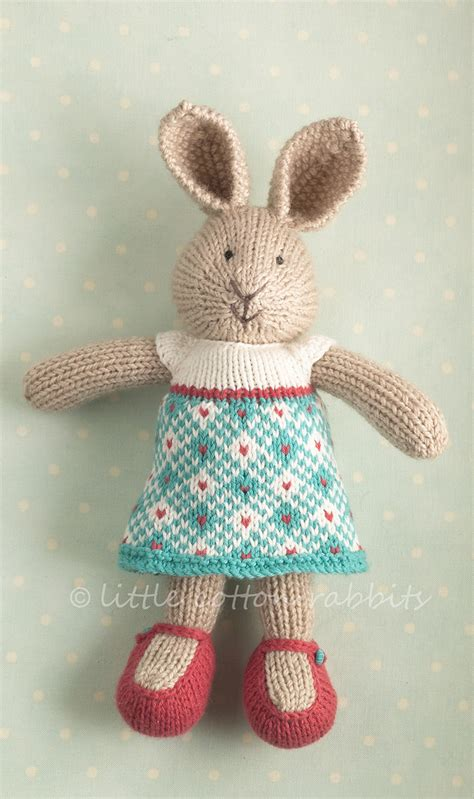 how to knit a bunny rabbit billie littlecottonrabbits flickr