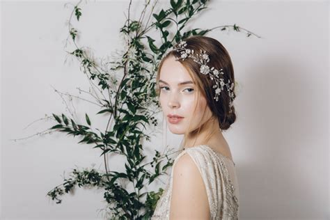 Wedding Hair Accessories Not On The High by Secret Garden Wedding Hair Accessories From Debbie