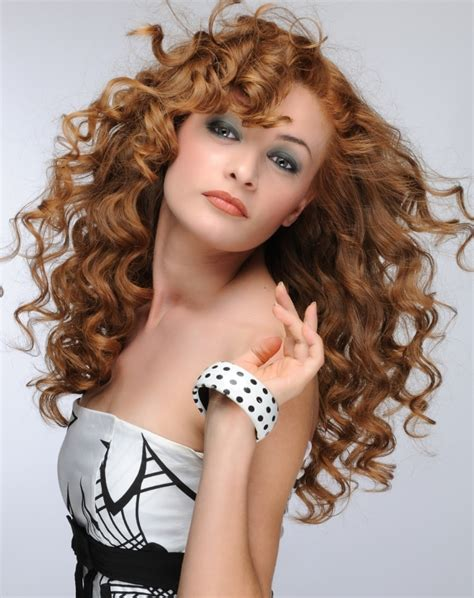 hairstyles curly hair long long curly hairstyles with trendy bangs 2016 haircuts