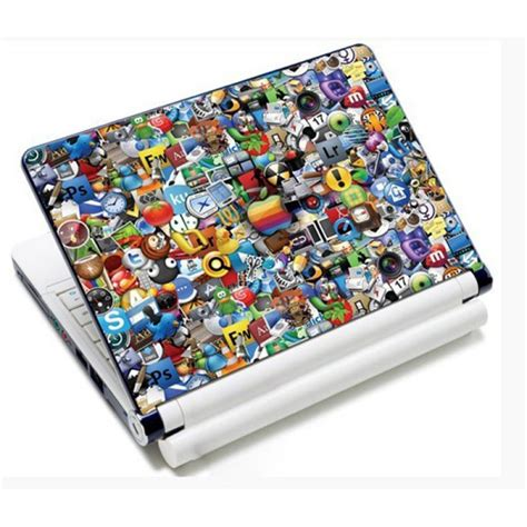 Stiker Laptop Anime 11 12 14 15 Inch Garskin Laptop 11 6 quot 15 4 quot icons laptop stickers