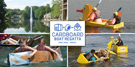 cardboard boat shapes 2017 lake anne cardboard boat regatta vivareston