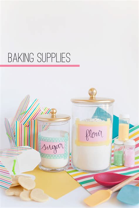 baking supplies tell diy jars and four ways to use tell and