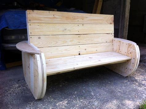 homemade garden bench diy rustic pallet bench