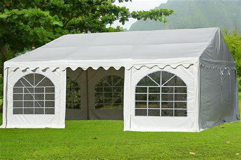 pvc carports 20 x 20 pvc heavy duty carport tent canopy shelter w