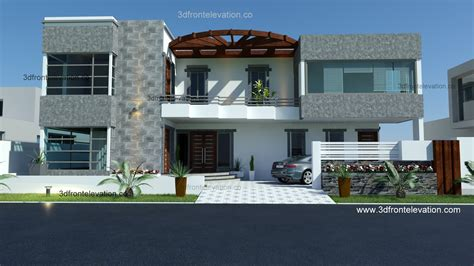 3d front elevation com 500 yard 350 squair meter 3d front elevation com pakistan