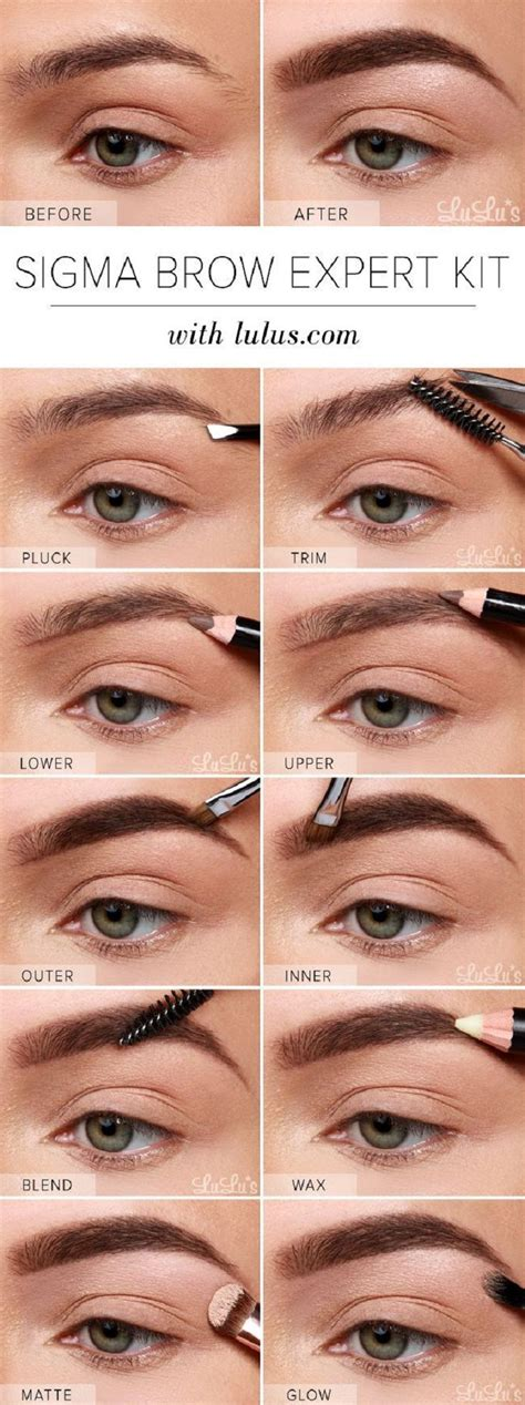 natural eyebrow makeup tutorial for beginners 15 ways to have the perfect eyebrows eyebrow tutorials