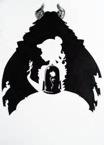 and beast silhouette and the beast silhouette by hoshino libra on