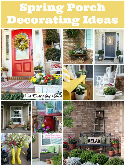 decorate your pictures spring porch decorating ideas tauni co