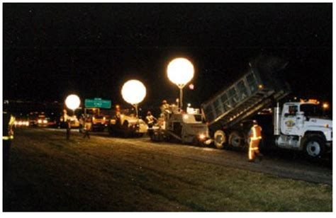 Nighttime lighting guidelines for work zones a guide for developing a lighting plan for