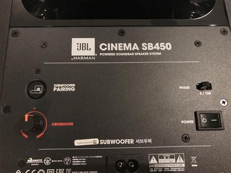jbl cinema sb  soundbar review  speaker