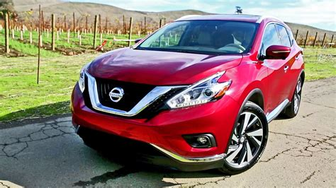 nissan murano red 2016 2016 nissan murano interior and exterior walkaround