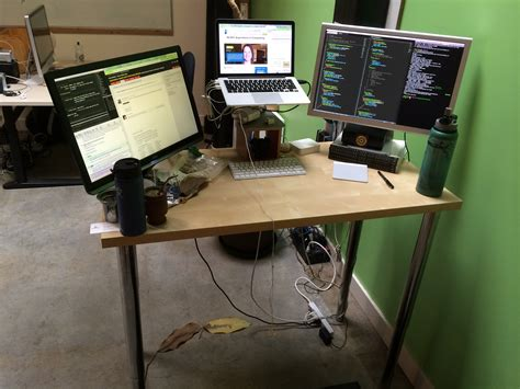 My Awesome Mac Setup Notes Evan Lovely S Site Standing Desk Setup