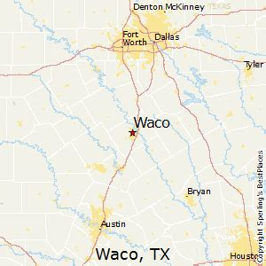 best places to live in waco