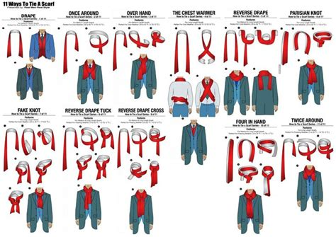 11 ways a guy can tie his scarf the huffington post 55 ways to tie a scarf men here are 11 ways a guy can tie