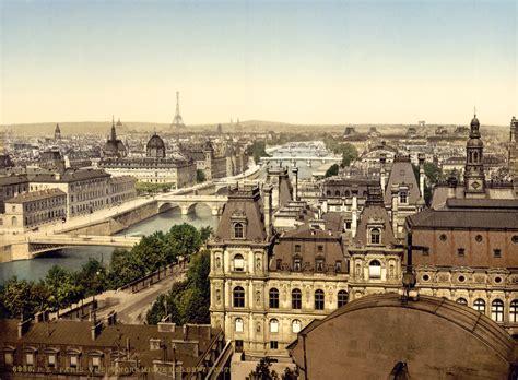 photographs of paris file panorama of the seven bridges paris france ca