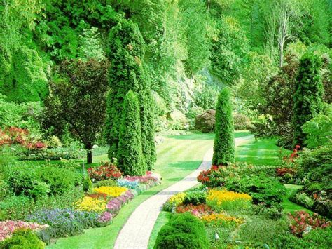 Pretty Flower Gardens Beautiful Flower Garden Amazing Wallpapers