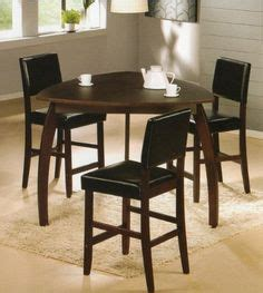 stool and dinette factory peoria emory 5 triangle counter height table with 4