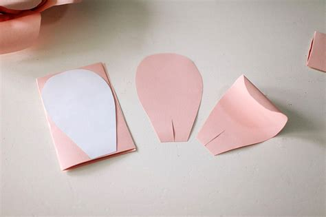 How To Make Paper Flower Petals - paper flowers wall decor decor