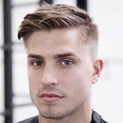 short side swept hairstyles fade haircut 25 men s haircuts women love