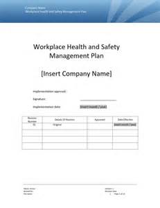 health and safety strategy template safety plan template cyberuse