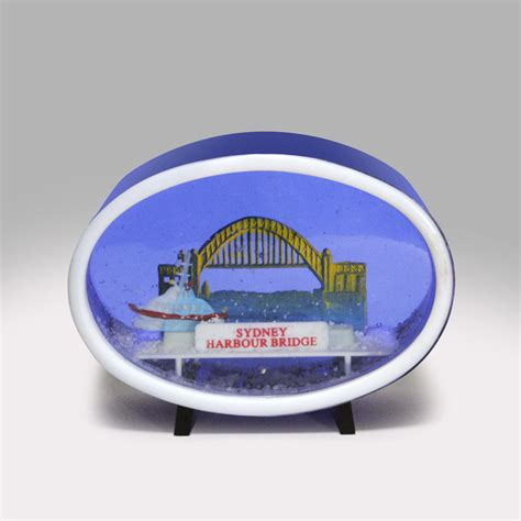 snowglobe of sydney australia sydney harbour bridge australia snow globe global shakeup