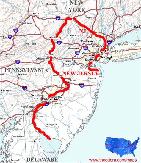 america map new jersey new jersey maps