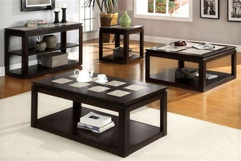 Coffee Table End Table Set Modern Coffee And End Table Sets