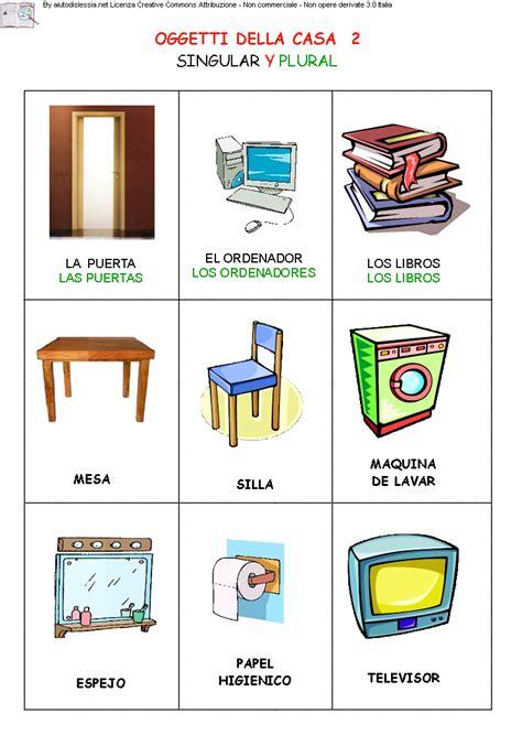 oggetti per casa oggetti della casa 2 mappe e schede