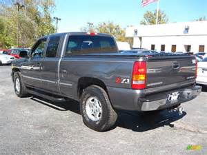 2001 medium charcoal gray metallic chevrolet silverado