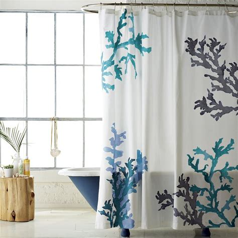 seaside shower curtains design trend seaside a little design help