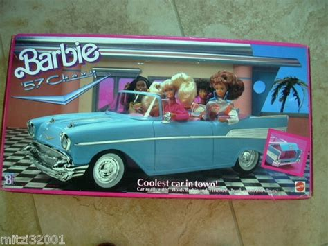 barbie 57 chevy barbie 57 chevy coolest car in town blue i m a barbie