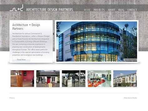 architectural design websites architecture design partners galway website web design