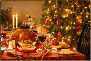 christmas dinner table decorations home design ideas
