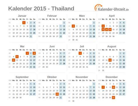 Kalender Mit Mondphasen 2015 3711 by Kalender 2015 Thailand Mit Feiertagen Zum Downloaden Und