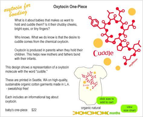 Made With Molecules: Oxytocin Baby One piece