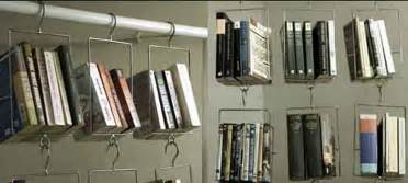 Makeshift Bookcase Creative Hanging Book Storage Iroonie Com