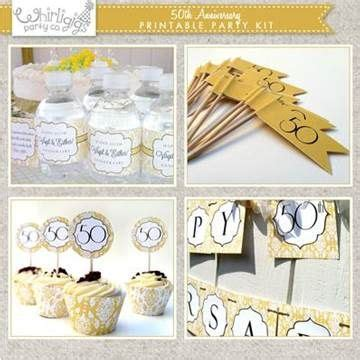 50th Wedding Anniversary Ideas On A Budget by 1000 Ideas About 50th Anniversary On