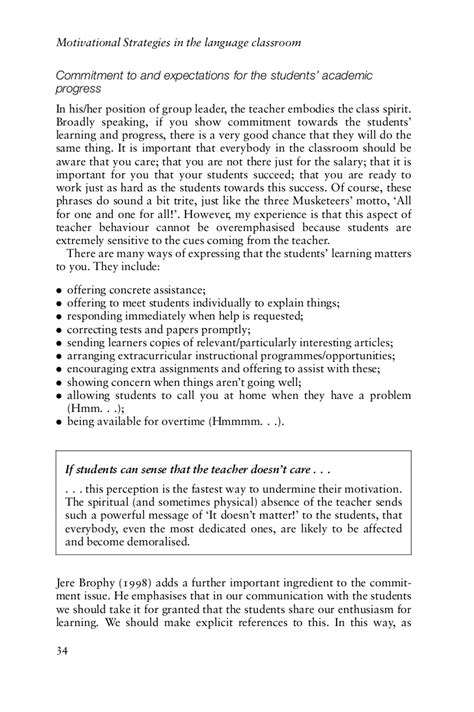 Research Paper On Motivation In Education by Phd Thesis Language Classroom Motivation