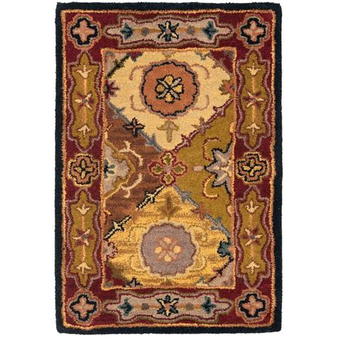 safavieh heritage accent rug in red multi hg926a 2 safavieh heritage multi red 2 ft x 3 ft area rug hg512b