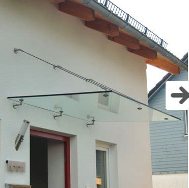 Awning System by Modern Glass Awning System