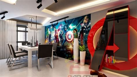 marvela interiors check out this radical avengers themed house geektyrant