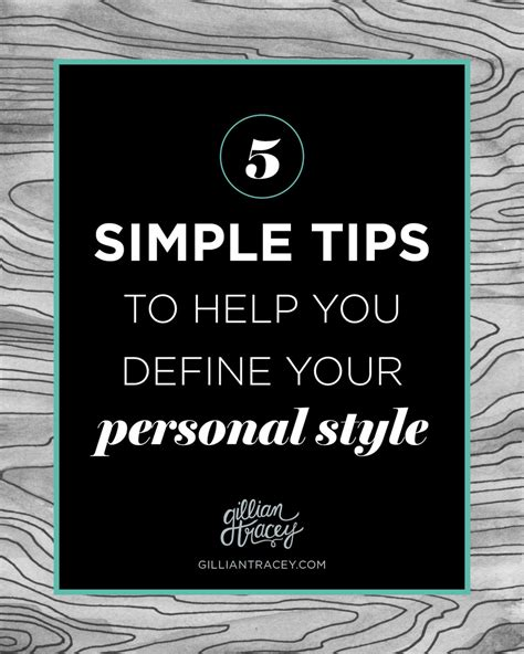 design branding definition 5 tips to help you define your style gillian tracey