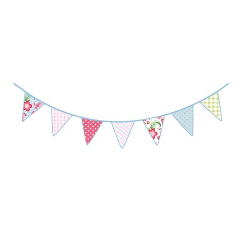 Nursery Wall Stickers Uk vintage bunting wall stickers