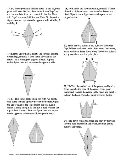 How Many Paper Cranes Did Sadako Make - diy how to make an origami paper crane wellness