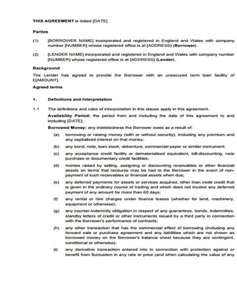 trade agreement template trading agreement template how to write trade agreement
