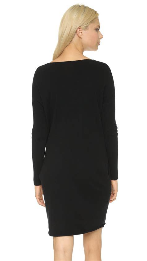 Zes Minori Tunik Black Dress Tunik lyst demylee dania tunic dress in black